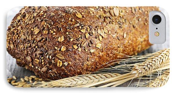 Loaf Of Multigrain Bread Phone Case by Elena Elisseeva