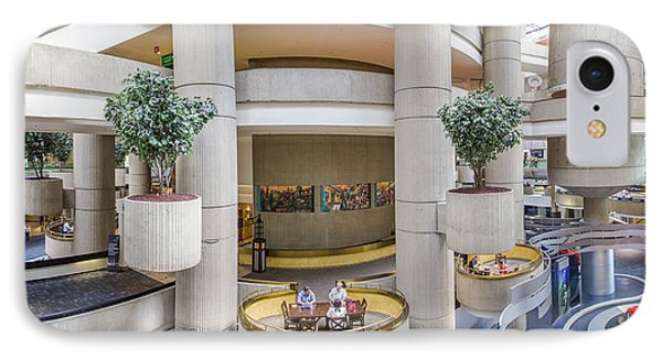Lobby Of The Renaissance Center IPhone Case