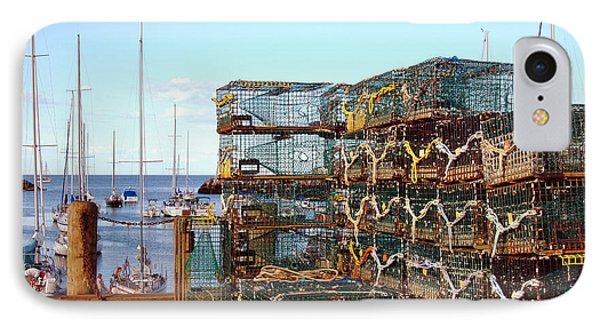 Lobstah Traps Phone Case by Joann Vitali