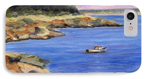 Lobster Boat In Jonesport Maine Phone Case by Pamela Parsons
