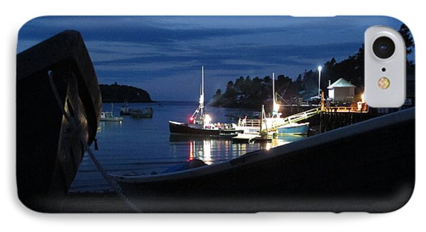 Lobster Boat Mackerel Cove IPhone Case by Donnie Freeman