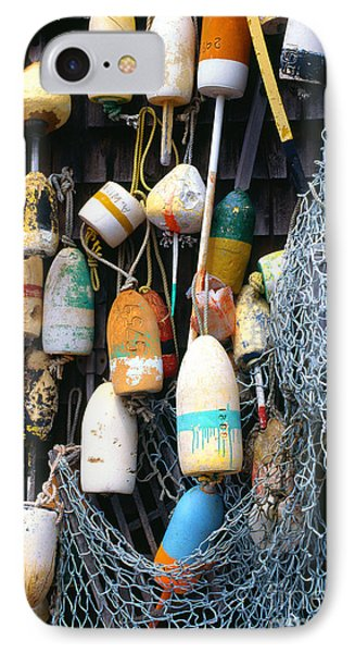 Lobster Buoys Fishermans Shed Phone Case by Thomas R Fletcher