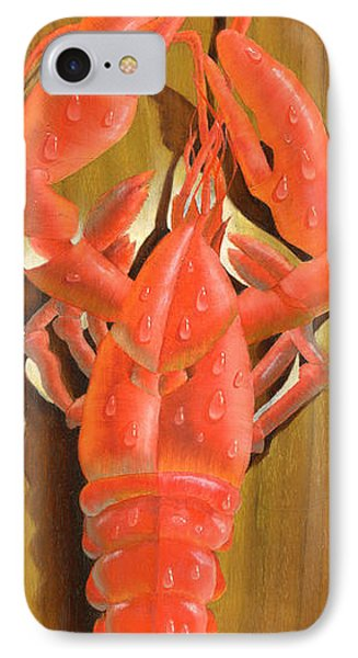 Lobster On A Plank IPhone Case