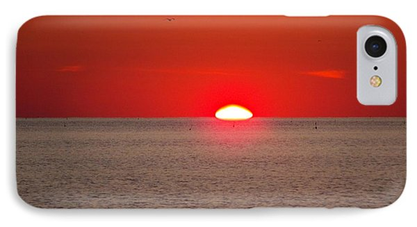 Lobster Pots Dance In The Sea  At Sunrise Phone Case by Eunice Miller