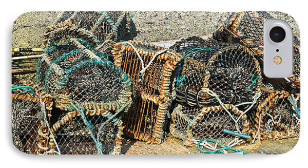 Lobster Pots IPhone Case by Jane McIlroy
