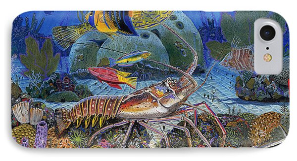 Lobster Sanctuary Re0016 Phone Case by Carey Chen