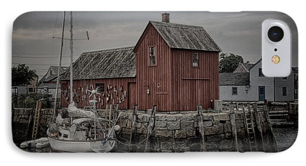 Lobster Shack - Rockport IPhone Case by Stephen Stookey