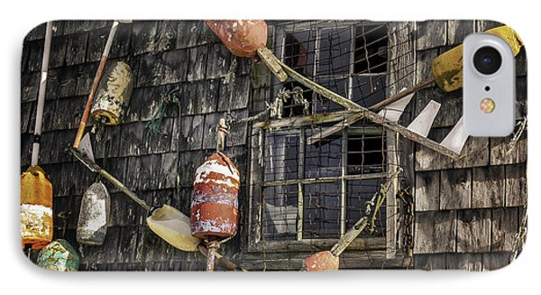 Lobster Shack Window Dressing IPhone Case by Thomas Schoeller