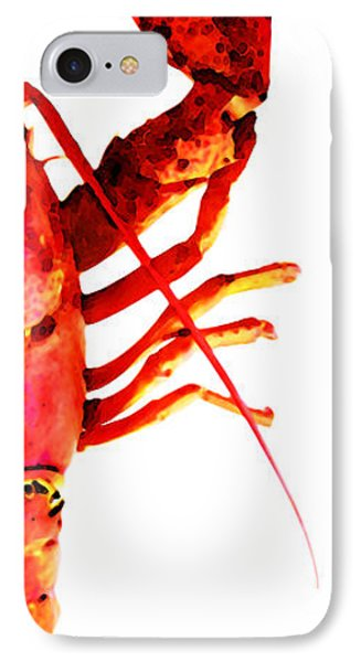 Lobster - The Right Side Phone Case by Sharon Cummings