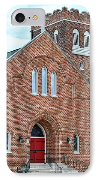 IPhone Case featuring the photograph Local Church by Linda Segerson