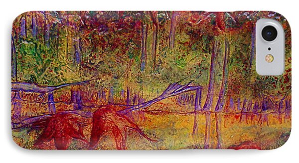 IPhone Case featuring the painting Local Color by D Renee Wilson