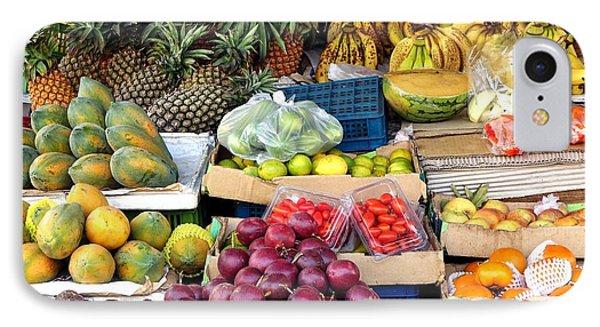 Local Corner Fruit Store In Taiwan IPhone Case by Yali Shi