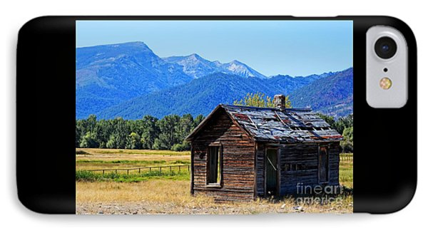 IPhone Case featuring the photograph Location Location Location Montana by Joseph J Stevens