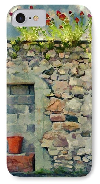 IPhone Case featuring the painting Location With A View by Jeff Kolker