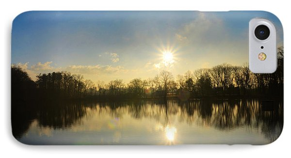 Loch Alsh At Sunrise - Ambler Pa IPhone Case by Bill Cannon