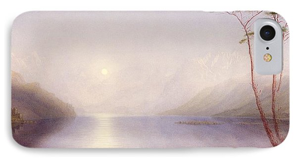 Loch Duich, Summer Moonlight IPhone Case by William Turner