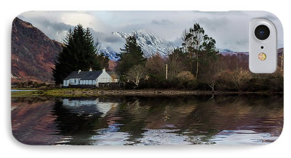 Loch Etive Reflections IPhone Case by Lynn Bolt