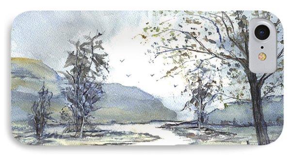 Loch Goil Scotland Phone Case by Carol Wisniewski