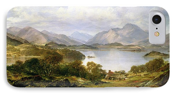 Loch Lomond, 1861 IPhone Case by Horatio McCulloch