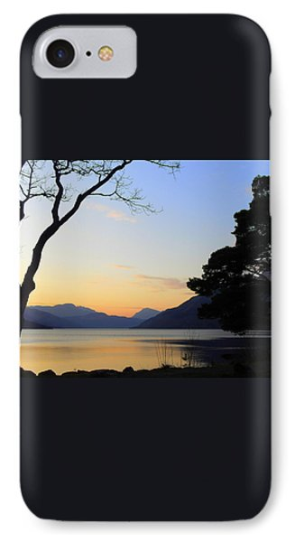Loch Lomond Sunset Phone Case by The Creative Minds Art and Photography