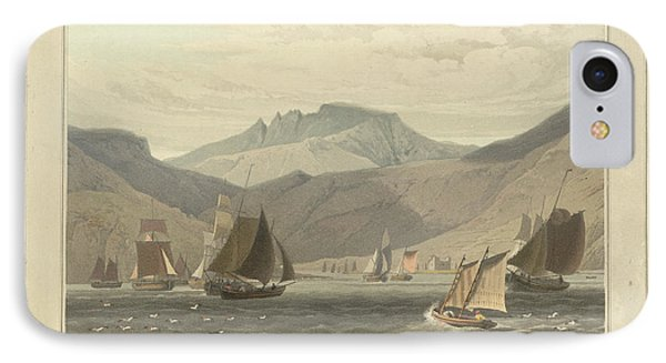 Loch Ranza On The Isle Of Arran IPhone Case by British Library