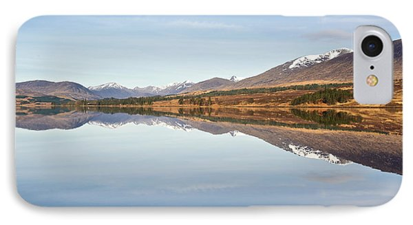 Loch Tulla In Spring IPhone Case by Stephen Taylor