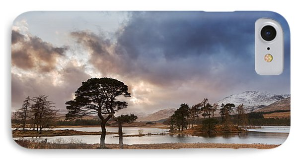 Loch Tulla IPhone Case by Rod McLean