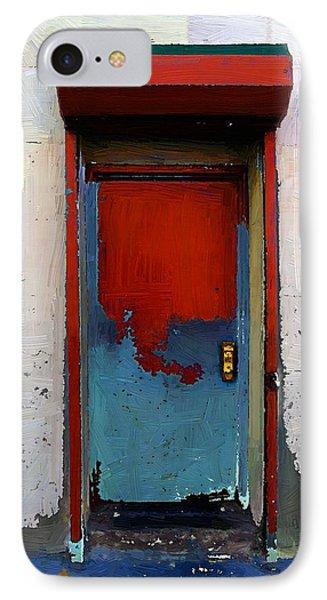 Locked Door, Hell's Kitchen Phone Case by RC deWinter