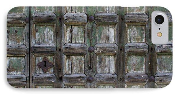 Locked Door IPhone Case by Ron Harpham