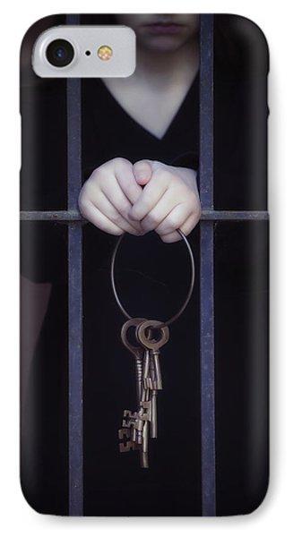 Locked-in IPhone Case by Joana Kruse