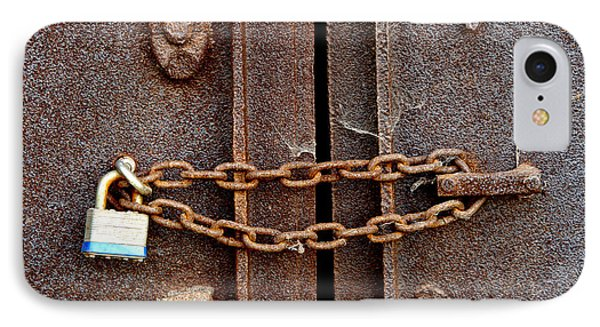 Locked IPhone Case by Olivier Le Queinec