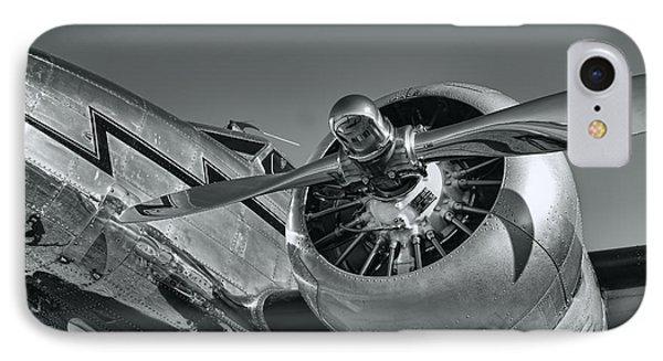Lockheed 12a Electra Junior  IPhone Case by Olga Hamilton
