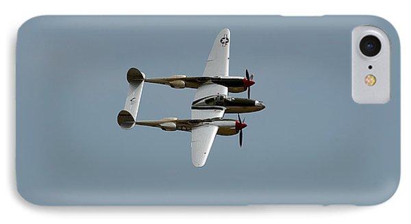 Lockheed P 38 Lightning IPhone Case by Richard J Cassato