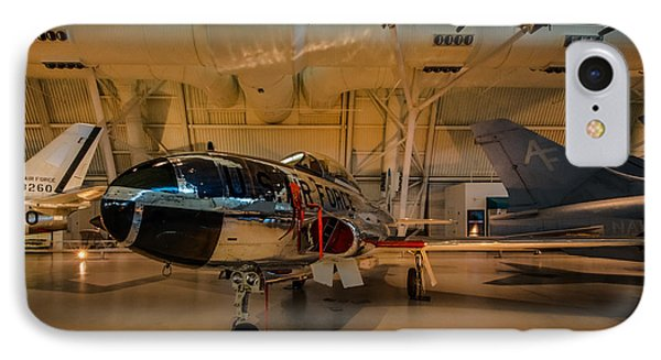Lockheed T-33a Shooting Star IPhone Case by Randy Scherkenbach