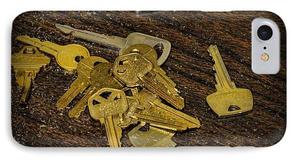 Locksmith - Rejected Keys Phone Case by Paul Ward