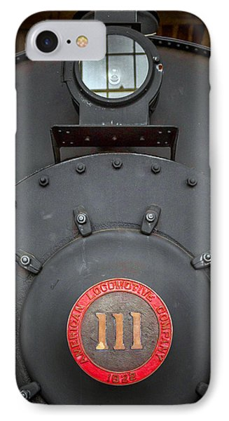 Locomotive 111 IPhone Case by Marion Johnson