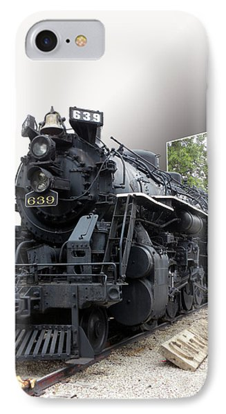 Locomotive 639 Type 2 8 2 Out Of Bounds Phone Case by Thomas Woolworth