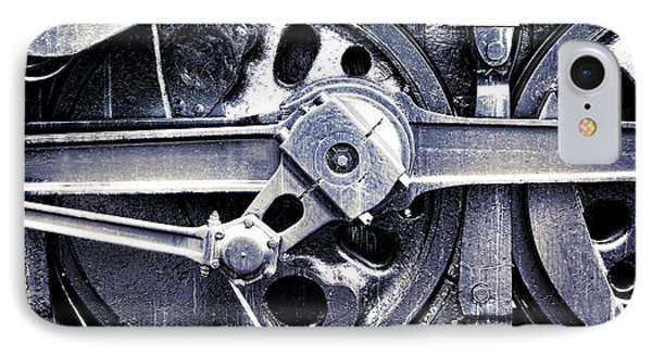 Locomotive Drive Wheels IPhone Case