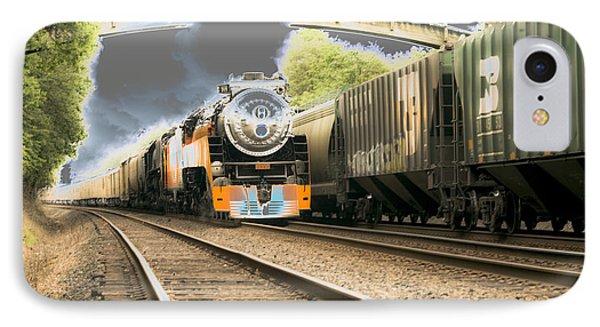Locomotive Engine 4449 IPhone Case by Rich Collins