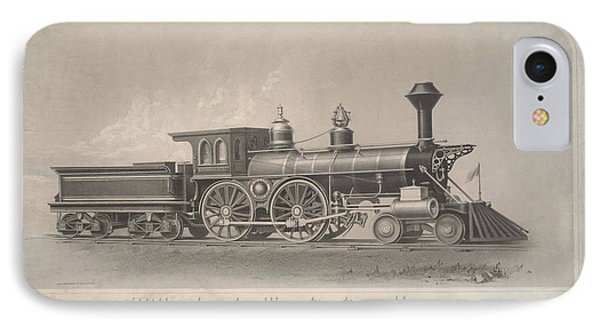 Locomotive Engines IPhone Case by MotionAge Designs
