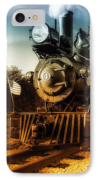 Locomotive Number 4 IPhone Case by Bob Orsillo