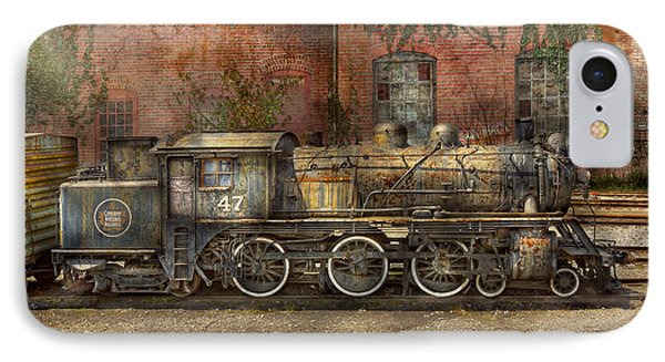 Locomotive - Our Old Family Business Phone Case by Mike Savad