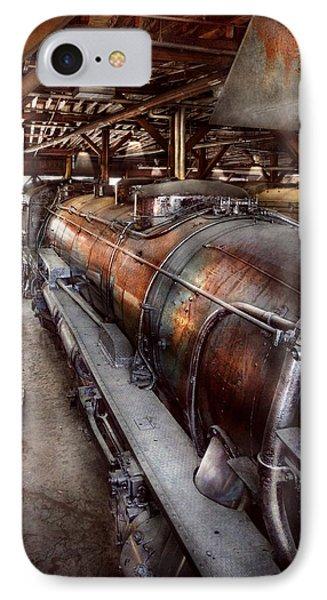 Locomotive - Routine Maintenance  Phone Case by Mike Savad