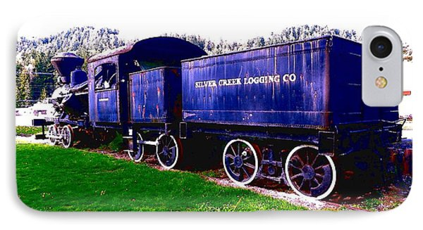 IPhone Case featuring the photograph Locomotive Steam Engine by Sadie Reneau