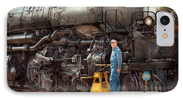 Locomotive - The Gandy Dancer  Phone Case by Mike Savad