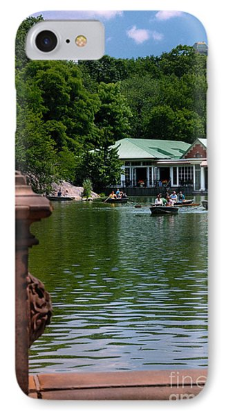 Loeb Boathouse Central Park Phone Case by Amy Cicconi