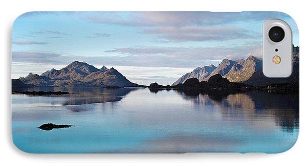Lofoten Islands Water World Phone Case by Heiko Koehrer-Wagner