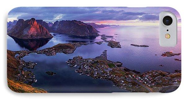 Lofoten Sunrise IPhone Case