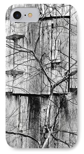 IPhone Case featuring the photograph Loft Door And Vines by Greg Jackson