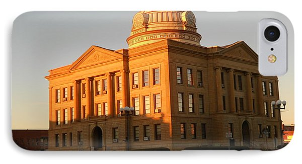 Logan County Courthouse  Lincoln IPhone Case